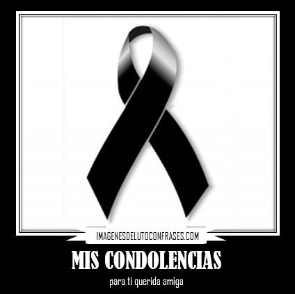 Imágenes de condolencias para mi amiga