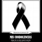 Imágenes De Condolencias Para Un Amigo Que Perdió Un Familiar