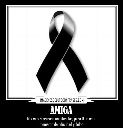 imagenes de condolencias para una amiga
