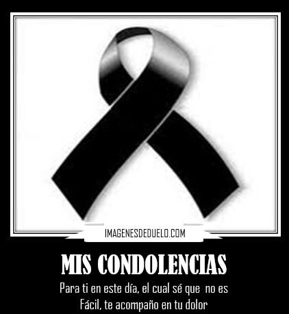 imagenes de condolencias por muerte
