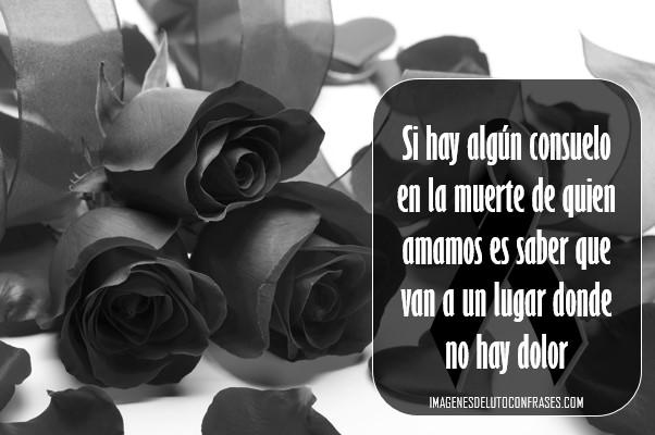 imagenes de luto con rosas negras