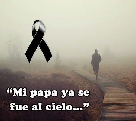imagenes de luto por mi padre