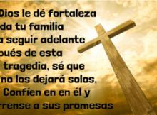 Imágenes de luto con frases bíblicas