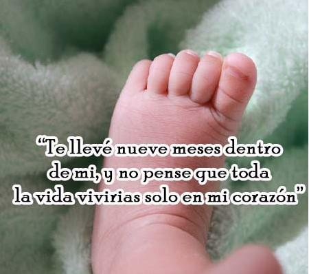 Imágenes de luto con frases para bebes