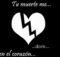 Imágenes de corazones de luto con frases