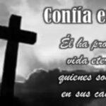 Imágenes de luto con frases cristianas para compartir