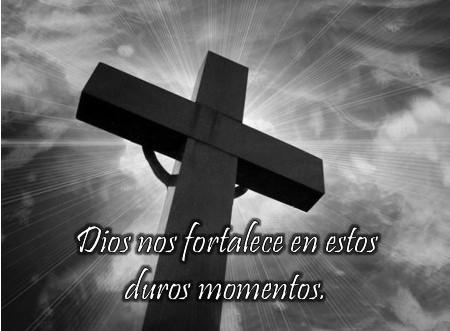 Dios nos fortalece en momentos de dolor