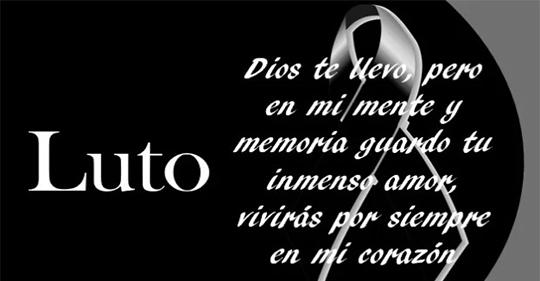 Frases de luto por un familiar fallecido