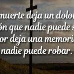 Imágenes con frases de luto para compartir en memoria de un familiar fallecido
