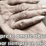 Imágenes de luto con frases para abuelas